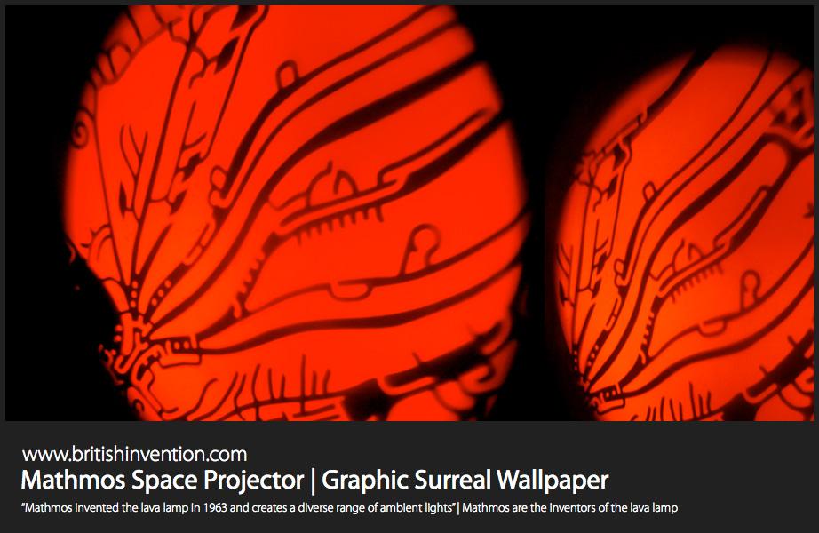 mathmos space projektor