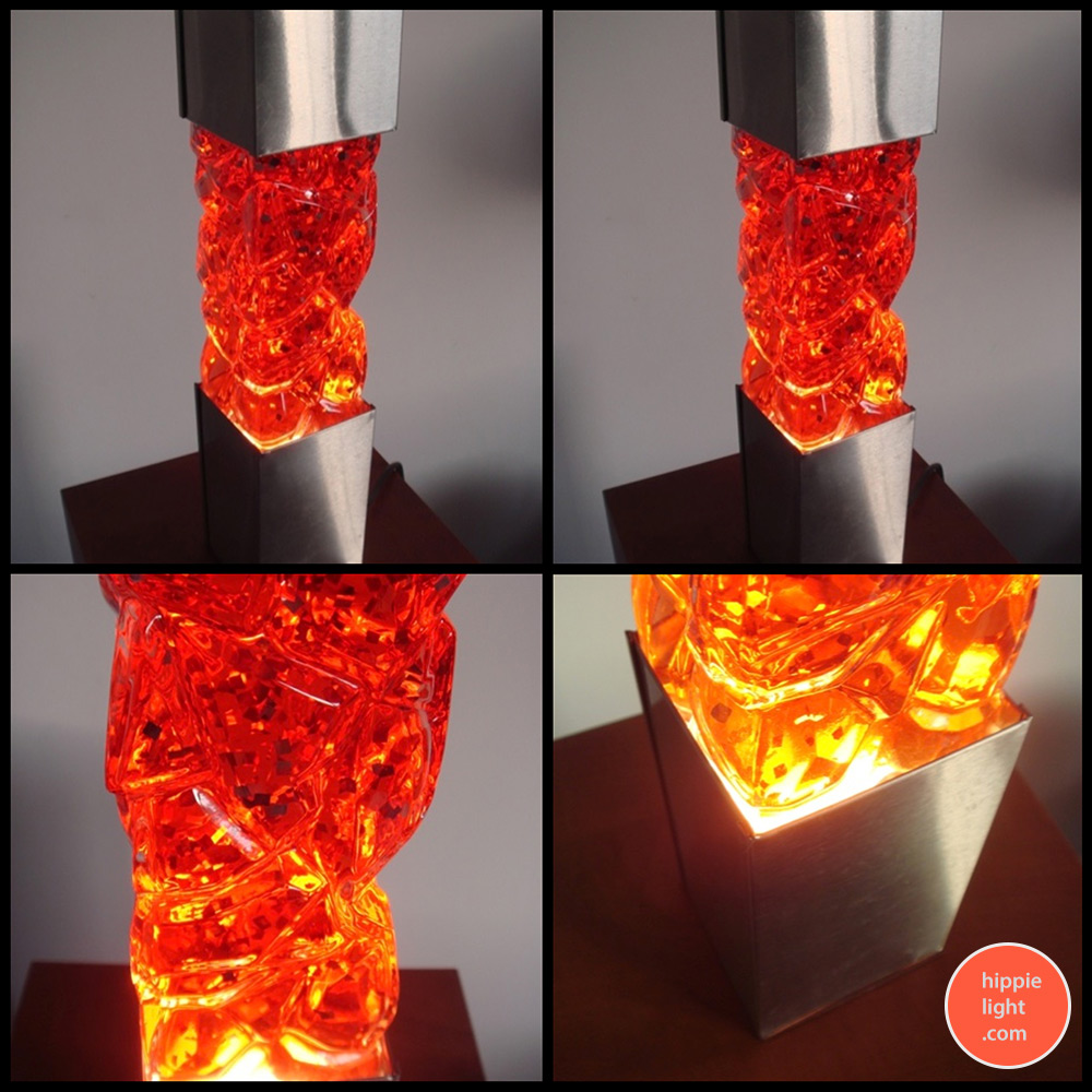 Lava lamp wattage - Fast Moving Glitter Inside The Bottle So Please Only Use A Low Wattage Bulb We Love The Square Design Of This Piece Enjoy The Images Below