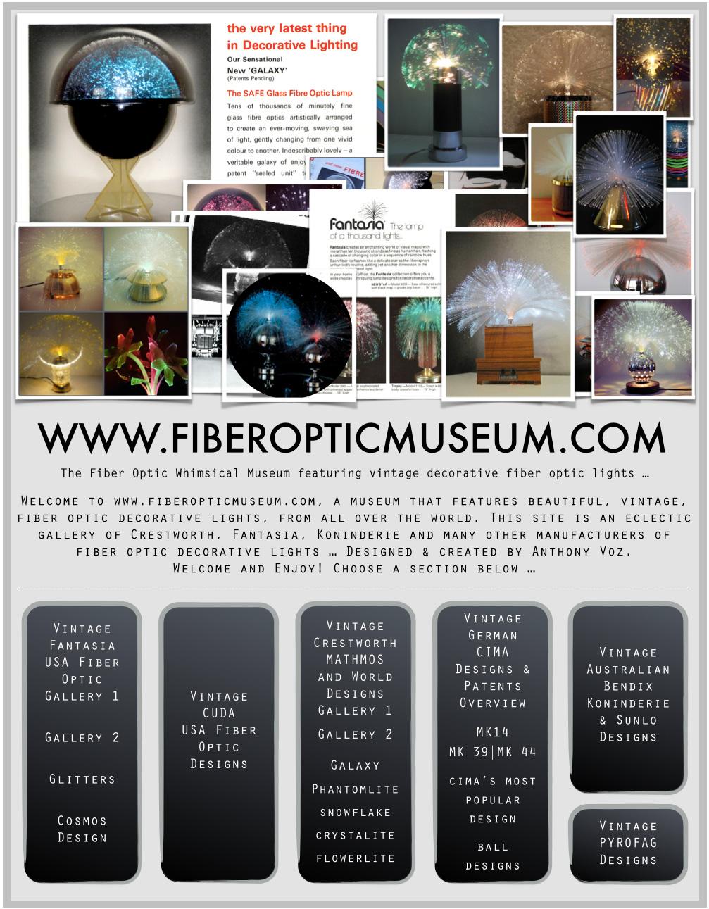 Welcome To Www Fiberopticmuseum Com Mini Index A Site Dedicated To